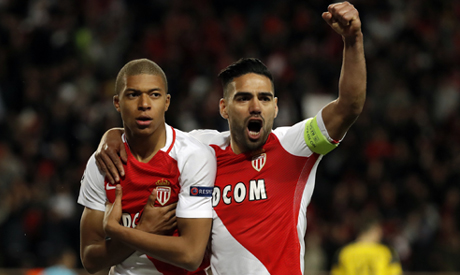 - AS Monaco v Borussia Dortmund