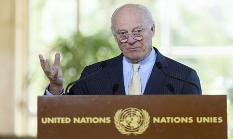 UN Syria envoy to meet Russian on Monday; no trilateral with US