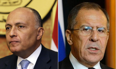 Shoukry and Lavrov