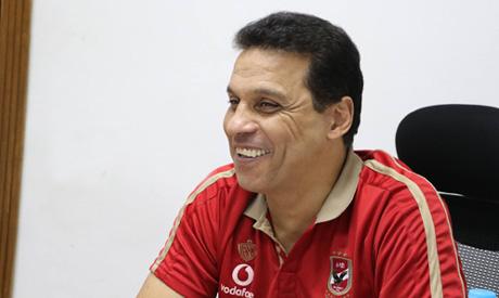 Ahly coach Hossam El-Badry (Menna Alla)
