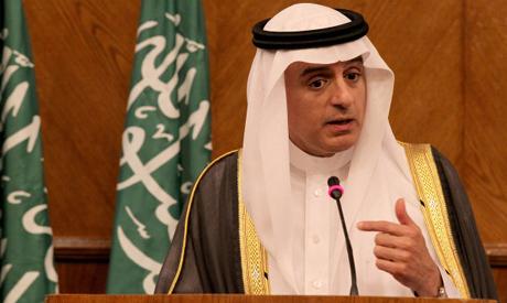 Saudi Foreign Minister Adel al-Juber