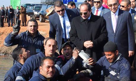 Egypt's president Abdel-Fattah El-Sisi (Al-Ahram)