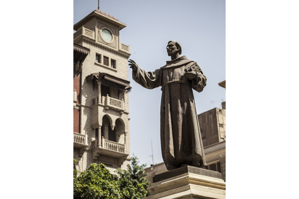 The statue of Saint Francis (photo: Sherif Sonbol)