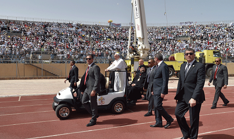 Pope Francis Winds Up Trip To Egypt