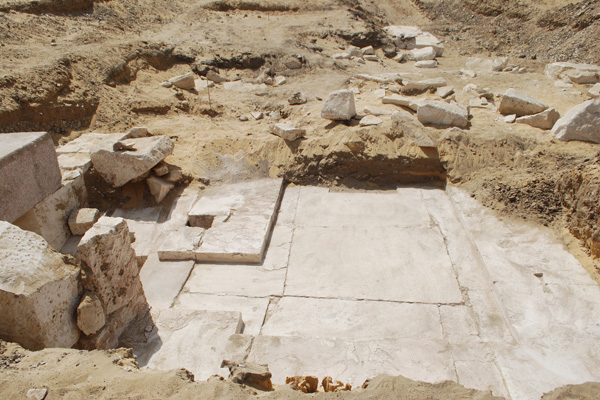 Remains of 13th Dynasty pyramid discovered in Egypt's Dahshur
