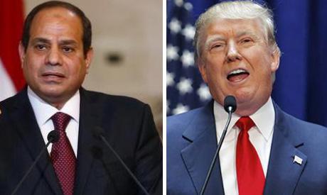 Trump, Sisi