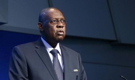 Former African soccer leader Issa Hayatou (Reuters)