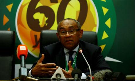 CAF chief Ahmad Ahmad(Reuters)