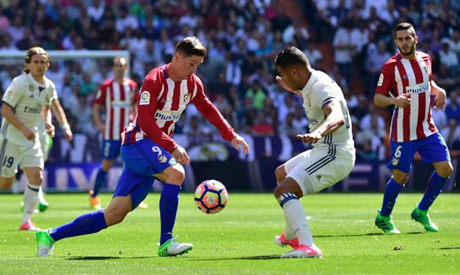 real madrid vs atletico madrid match result