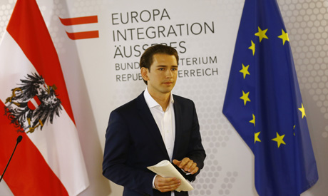 Austria's conservative star wants snap vote, coy on party role
