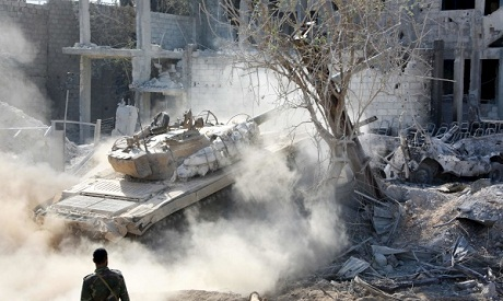 Syria forces on verge of seizing rebel-held Qaboun