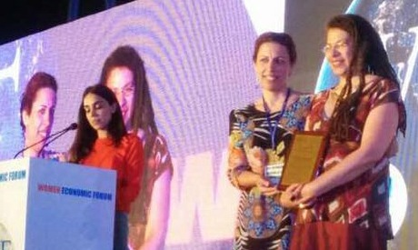 Director Iman Kamel Wins Iconic Women Award at Women Economic Forum
