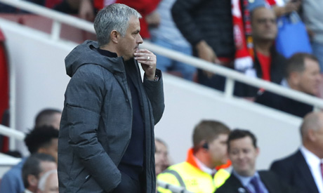 Mourinho explains why Manchester United lost to Tottenham