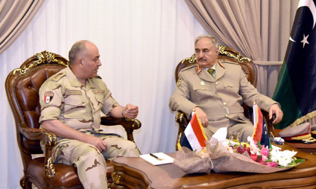Hegazi and Haftar