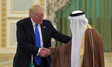 Trump, King Salman