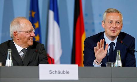 Germany, France pledge new effort to strengthen eurozone