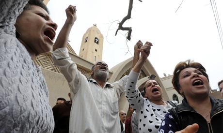 Church bombing in Tanta