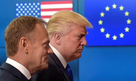 Trump with EU