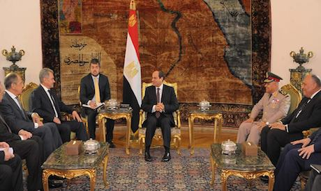 Russian, Egyptian ministers meet in Cairo