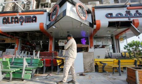 Iraqi icecream shop bombing