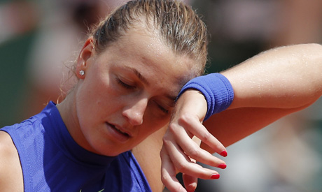 Kvitova wins in impressive comeback after knife attack