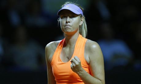 Sharapova of Russia (Reuters)