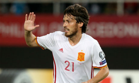 Macedonia 1 Spain 2: Silva and Costa keep visitors on top