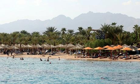 Tourist in Sharm
