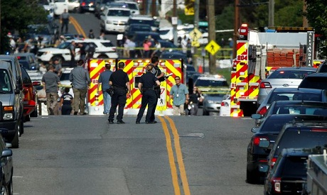 Gunman targets Republican lawmakers, wounds 5