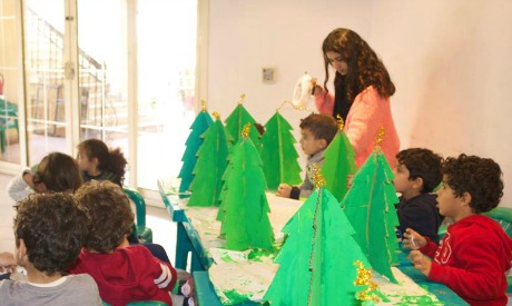 Rizkallah ART Foundation Winter Camp