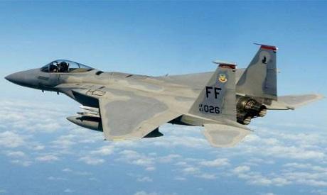 F-15 fighter