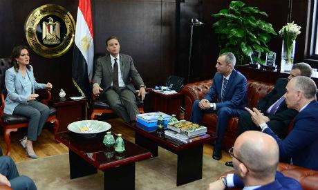 Nasr, Arafat meet GE