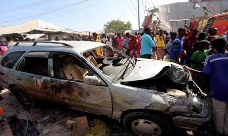 Mogadishu suicide bomb explosion. File Photo REUTERS