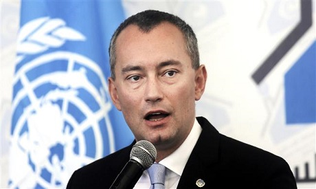 Nickolay Mladenov, the U.N. envoy to the Middle East peace process. AFP