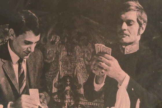 Abdel-Halim Hafez and omar sharif