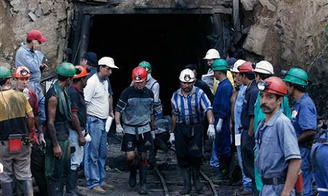 Colombian miners