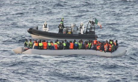 Irish naval ship rescues 712 people near Libya: Defence forces