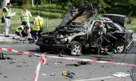 Kiev car bomb
