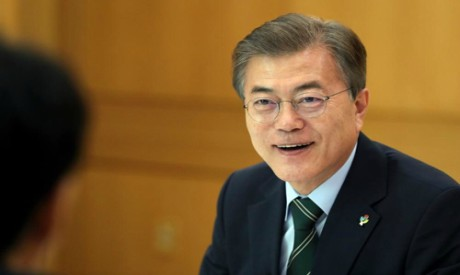 Moon's efforts for inter-Korean ties to gain pace with Trump's support