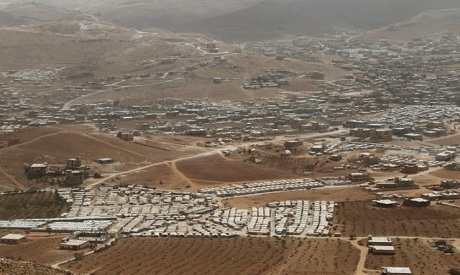 Fire hits Syrian refugee camp in Lebanon