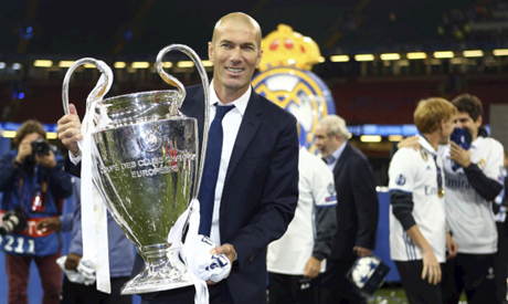 Real Madrid win Champions League Final 4-1 in Cardiff
