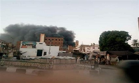 Fire in Edfu
