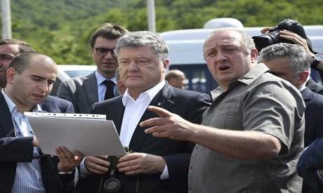 Margvelashvili & Poroshenko