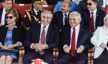 Turkish PM & Turkish Cypriot leader