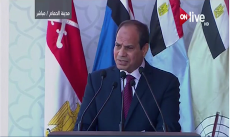 Egypt's Sisi inaugurates largest military base in Mideast