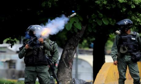 Venezuelan police