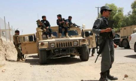 Afghan security