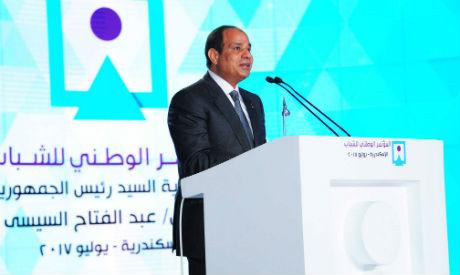 El-Sisi in Alexandria