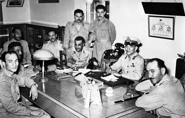 Mohammad Naguib and Nasser