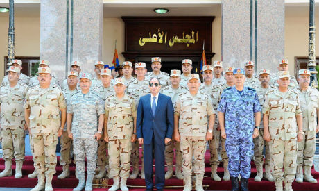 El-Sisi and National Defence Council